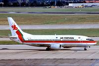 CS-TIC @ EGLL - Boeing  737-382 [24366] (TAP Air Portugal) Heathrow~G 06/07/1992 - by Ray Barber