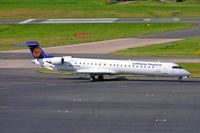 D-ACKK @ EGBB - Canadair CRJ-900 [15094] (Lufthansa Regional) Birmingham Int'l~G 01/09/2009 - by Ray Barber