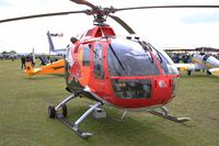 D-HSDM @ LFFQ - MBB Bo-105CB, Static display, La Ferté-Alais airfield (LFFQ) Airshow 2015 - by Yves-Q