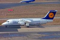 D-AVRA @ EGBB - BAe 146-RJ85 [E2256] (Lufthansa Regional/Cityline) Birmingham Int'l~G 09/03/2010 - by Ray Barber