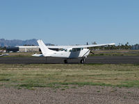 N134RF @ FFZ - another sad white Cessna - by olivier Cortot