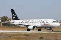 HB-IJM @ LMML - A320 HB-IJM Swiss Star alliance livery - by Raymond Zammit