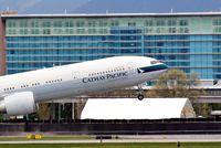 B-KQX @ YVR - Our 50th 777-300ER back to Hong Kong,CX837 - by metricbolt