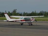 N7309Q @ O69 - 1972 Cessna 182P Skylane @ Petaluma Municipal Airport, CA - by Steve Nation