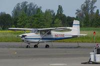 N6721E @ O69 - Classic 1959 Cessna 175 Skylark looking a little faded @ Petaluma Municipal Airport, CA - by Steve Nation