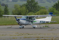 N172AR @ O69 - Locally-based 1975 Cessna 172M Skyhawk @ Petaluma Municipal Airport, CA - by Steve Nation
