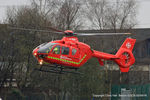 G-NWAE @ EGCB - North West Air Ambulance - by Chris Hall