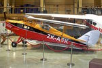 ZK-APT - Displayed at the Museum of Transport and Technology (MOTAT) in Auckland , New Zealand   as ZK-AEK