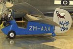 ZM-AAA - Displayed at the Museum of Transport and Technology (MOTAT) in Auckland , New Zealand - by Terry Fletcher