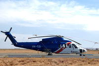 VH-TZI @ YPKA - Sikorsky S-76C, operated by Bristow Helicopters Australia, at Karratha airport, Western Australia - by Van Propeller