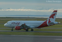 C-FYNS @ CYVR - Taxiing for take-off, south runway. - by Remi Farvacque