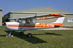 G-ATRM @ X5FB - Reims F150F, Fishburn Airfield, May 2010. - by Malcolm Clarke