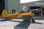 G-RLWG @ EGBR - Ryan ST3KR at the John McLean Aerobatics Trophy competition, Breighton Airfield, UK in 2010. - by Malcolm Clarke