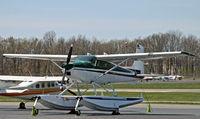 C-FYGA @ KCDW - Seeing this Canadian-registered floatplane was a very nice surprise! - by Daniel L. Berek