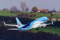 D-ATUP @ EDDR - Boeing 737-8K5 - by Jerzy Maciaszek