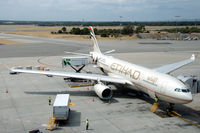 A6-EYG @ YPPH - Etihad Airways Airbus A330-243 at Perth airport, Western Australia - by Van Propeller
