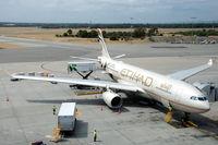 A6-EYG @ YPPH - Etihad Airways Airbus A330-243 at Perth airport, Western Australia - by Van Propeller