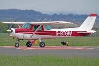G-BTGW @ EGFF - 152, Stapleford Flight Centre Stapleford Aerodrome based, previously N757KY, taxxing in. - by Derek Flewin