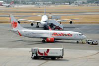 9M-LNY @ YPPH - Boeing 737-8GP of Malindo Air on the platform of Perth airport, Western Australia - by Van Propeller