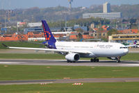 OO-SFX - A333 - Brussels Airlines