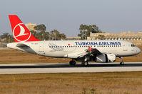 TC-JLV @ LMML - Landed runway 13 - by Keith Pisani