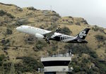 ZK-OXD @ NZQN - Air NZ Airbus climbs away from Queenstown