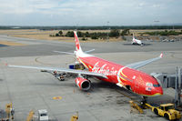 9M-XXT @ YPPH - AirAsia X Airbus A330-343 at Perth airport, Western Australia - by Van Propeller