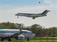 LX-GXX @ ELLX - Bombardier BD-700-1A10 Global Express - by Jerzy Maciaszek