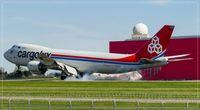LX-VCD @ ELLX - Boeing 747-8R7F, - by Jerzy Maciaszek