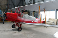 G-BWVT @ EGPT - Hangared at Perth EGPT - by Clive Pattle
