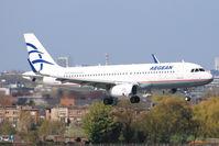 SX-DNE - A320 - Aegean Airlines