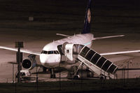 D-AILS @ EGPD - Night shot at Aberdeen Airport EGPD - by Clive Pattle