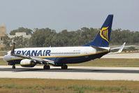 EI-DHV @ LMML - B737-800 EI-DHV Ryanair - by Raymond Zammit