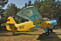 DM-SKO @ EDAV - Stored in Museum Finow (former NVA - East German Air Force - Airfield) - by Wilfried_Broemmelmeyer