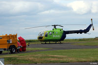G-CDBS @ EGPT - On Scottish Air Ambulance duty at Perth EGPT - by Clive Pattle