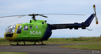 G-CDBS @ EGPT - Bond Helicopters owned on contract to the Scottish Air Ambulance - on standby at Perth EGPT - by Clive Pattle