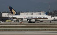 9V-SKT @ LAX - Singapore Airlines A380 - by Florida Metal