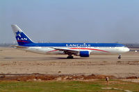 CC-CZT @ SPIM - Boeing 767-316ER [29228] (LAN Chile) Lima-Jorge Chavez Int'l~OB 05/04/2003 - by Ray Barber