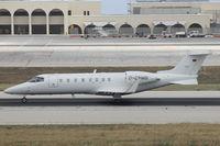 D-CNMB @ LMML - Learjet45 D-CNMB - by Raymond Zammit