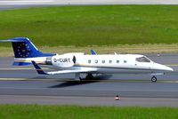 D-CURT @ EDDL - Learjet 31A [31A-042] (Air Traffic) Dusseldorf~D 18/05/2005 - by Ray Barber