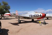 47-1433 @ DMA - F-84C Thunderjet - by Florida Metal