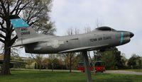 53-0668 - F-86L Sabre at the Parthenon Nashville TN - by Florida Metal