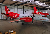 D-COLE @ EDDW - This is the second insolvency for this bird in this hangar. The first as D-CHBB at Air Bremen and the second (this one) as D-COLE at OLT Express - by Wilfried_Broemmelmeyer