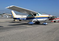 N3272S @ SZP - Locally-based 1964 Cessna 182G Skylane @ Santa Paula Airport (Ventura County), CA - by Steve Nation