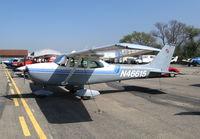 N46615 @ SZP - Locally-based  1968 Cessna 172K Skyhawk @ Santa Paula Airport (Ventura County), CA - by Steve Nation