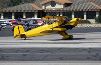 N1017U @ SZP - Locally-based 1939 CASA 1-131 Jungmann taxiing @ Santa Paula Airport (Ventura County), CA - by Steve Nation