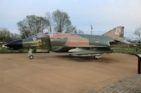 66-7550 - F-4D Phantom in Bowling Green Kentucky - by Florida Metal