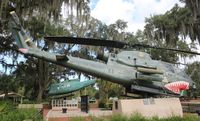 67-15722 - AH-1F at Tampa Veterans Park - by Florida Metal