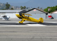 N1017U @ SZP - Locally-based 1939 CASA 1-131 Jungmann running up engine @ Santa Paula Airport (Ventura County), CA - by Steve Nation