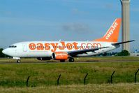 G-EZYL @ LFPG - Boeing 737-33V [29336] (EasyJet) Paris-Charles De Gaulle~F 18/06/2003 - by Ray Barber